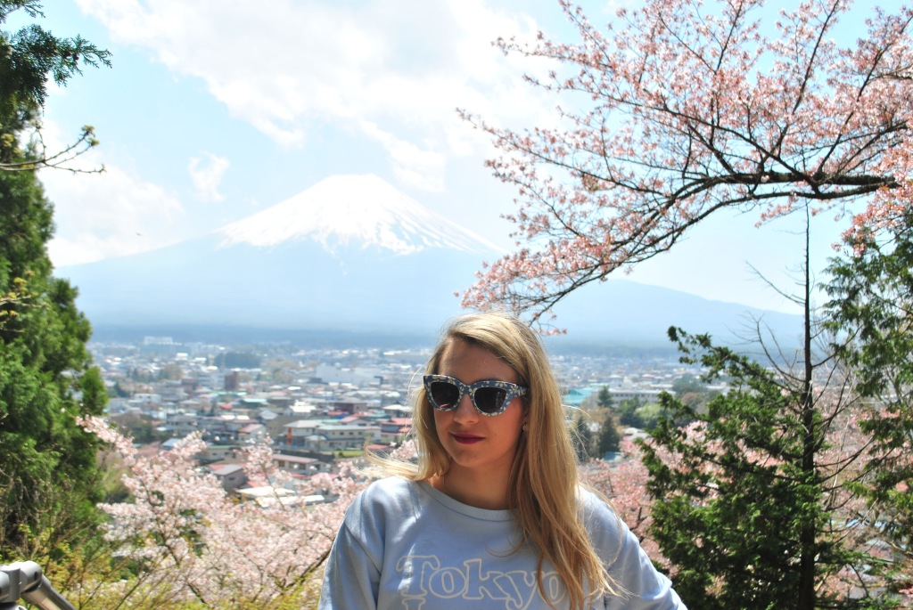 Mount Fuji Madamedaniel honeymoon in Japan blogger
