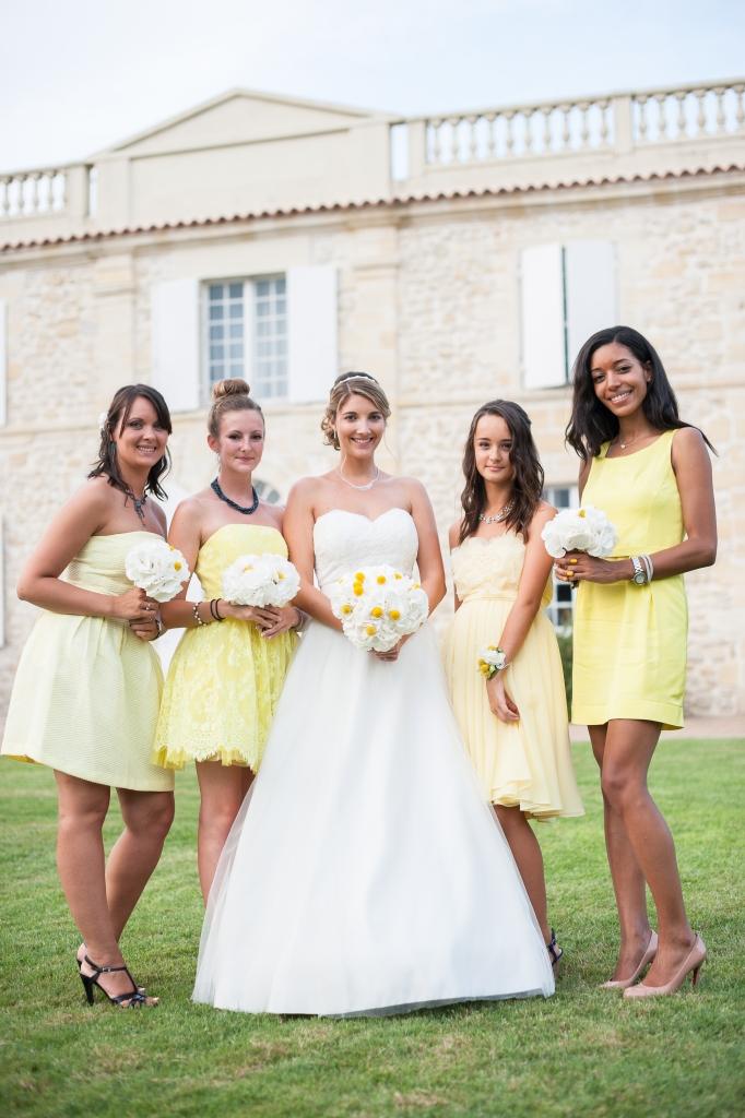 Mariage virginie nicolas yohan terazza madamedaniel wedding yellow