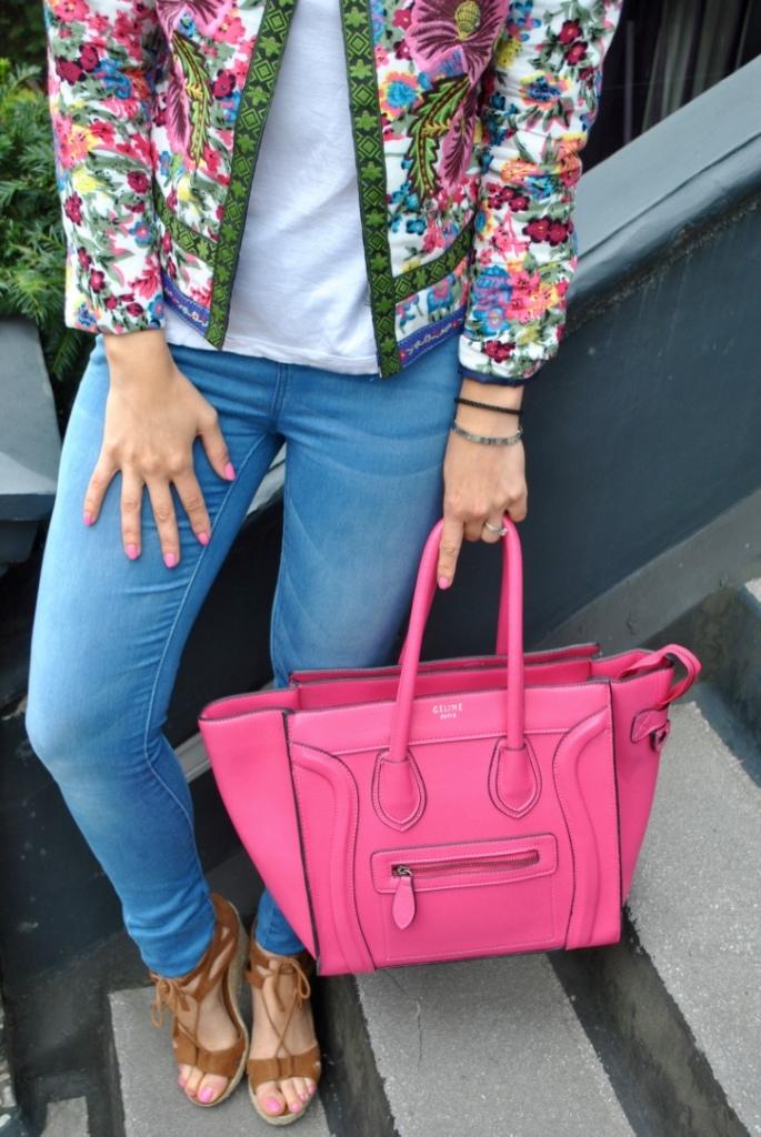 Madamedaniel zaful outfit pink celine bag