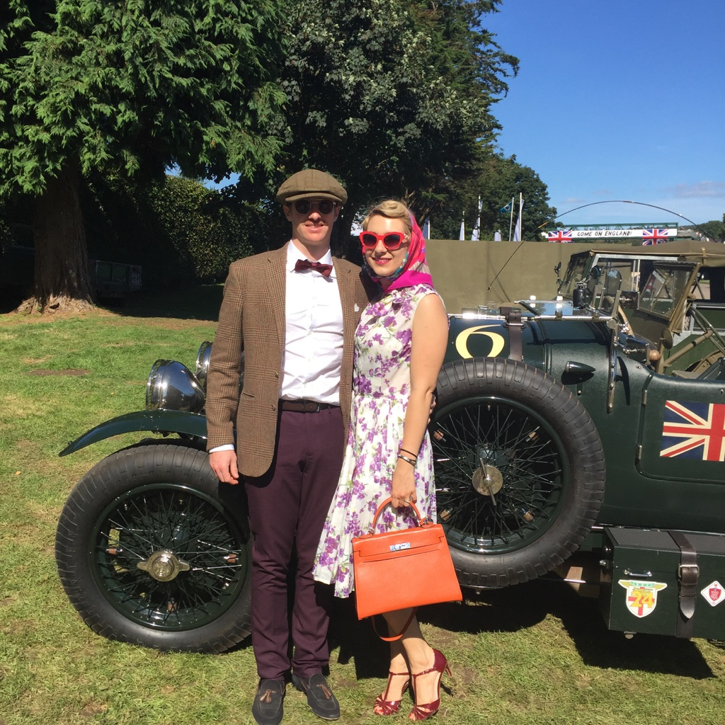 goodwood revival outfit madamedaniel
