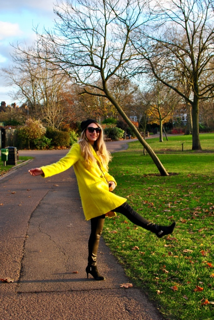 yellow coat madamedaniel