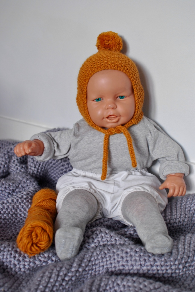 pixie hat handmade madamedaniel béguins fait main fille garçon unisexe tricot coton bamboo bambou