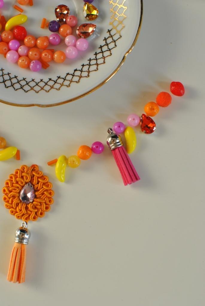Madame Daniel la boite à perles DIY collier perles necklace