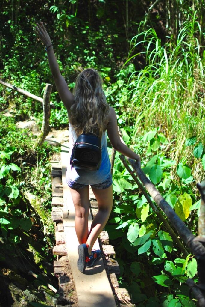 El Nicho madamedaniel zaful palm swimsuit palmer's cocoa butter avis blog voyage