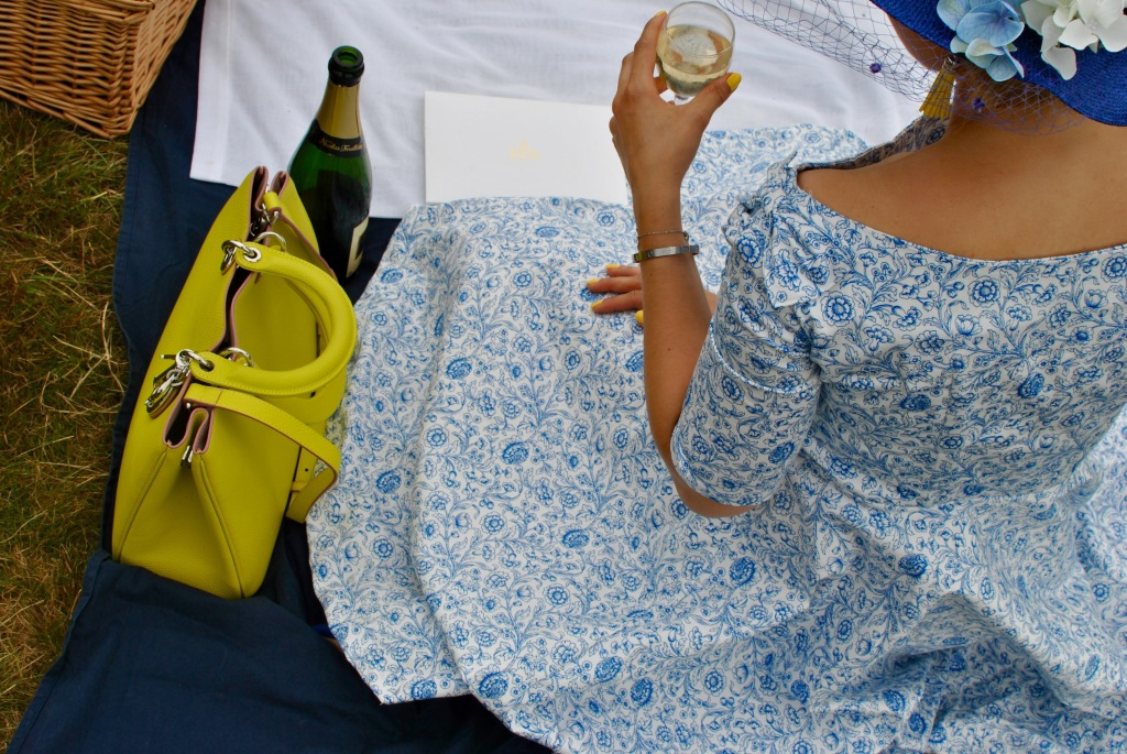 madamedaniel royal ascot blog wearlemonade yellow diorissimo robe lolita