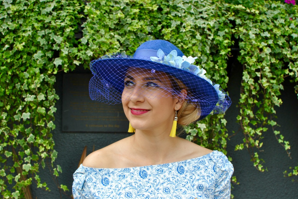 madamedaniel royal ascot blog wearlemonade yellow diorissimo robe lolita