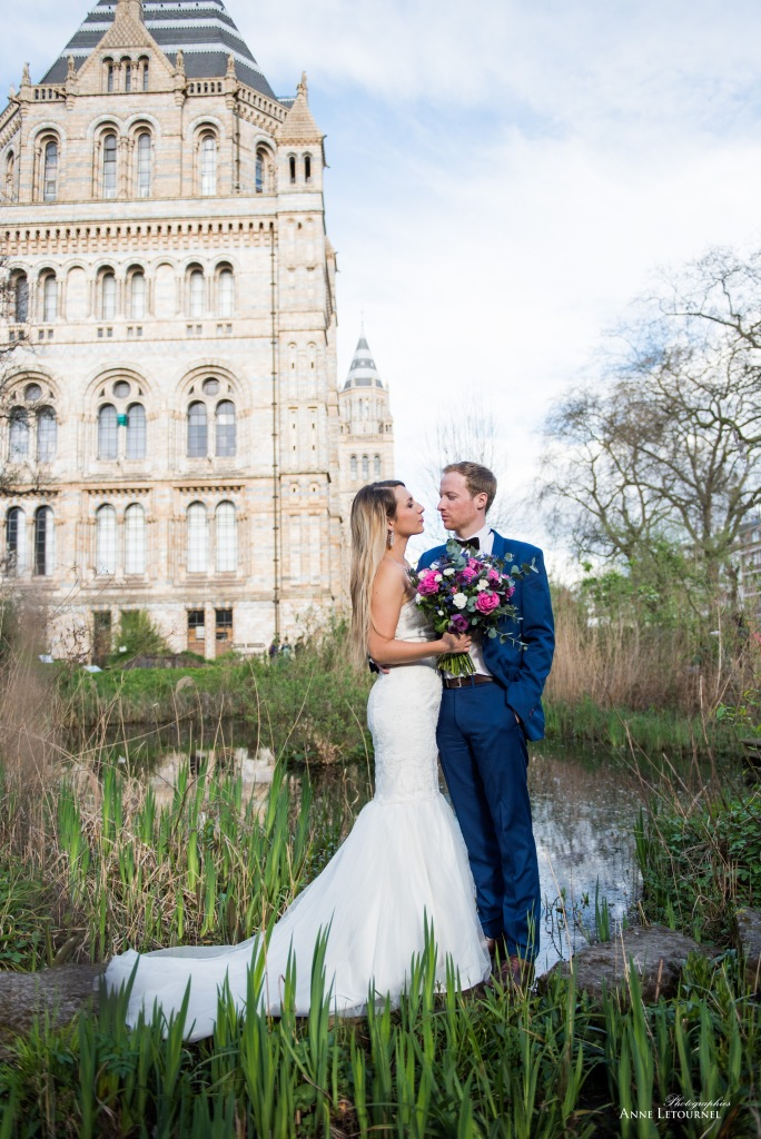 madamedaniel natural museum london wedding session french wedding londo