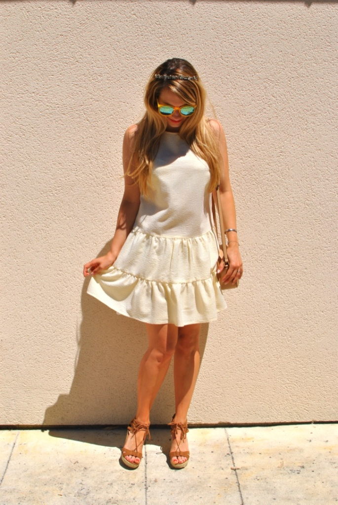 yellow dress primark madamedaniel summer style french style baby doll dress l'usine à lunettes