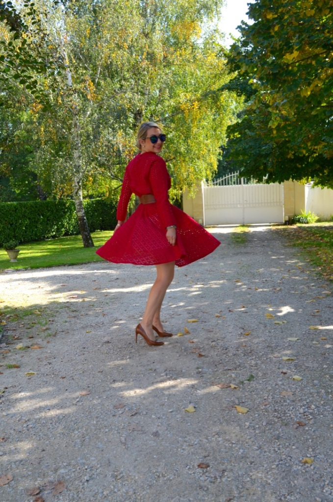 madamedaniel madame daniel ensemble pourpre automne tenue bloggeuse mode fall style