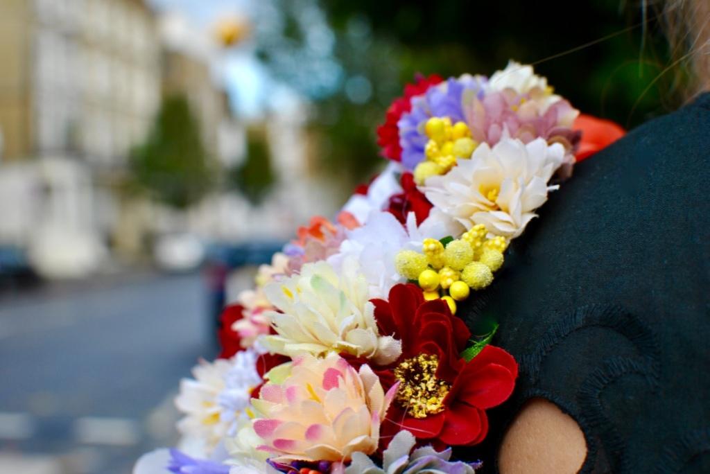 louis antoinette robe alma madamedaniel madame daniel fait main blog couture hacklamode manches fleuries